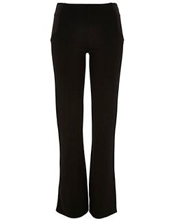 River Island - Black fitted ponte flared leggings - £30