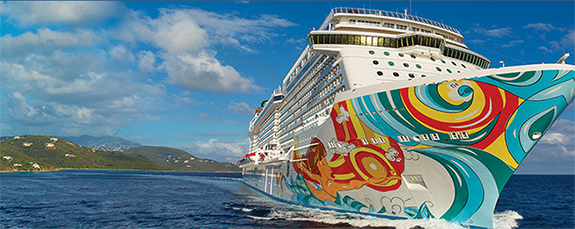Getaway cruise ship