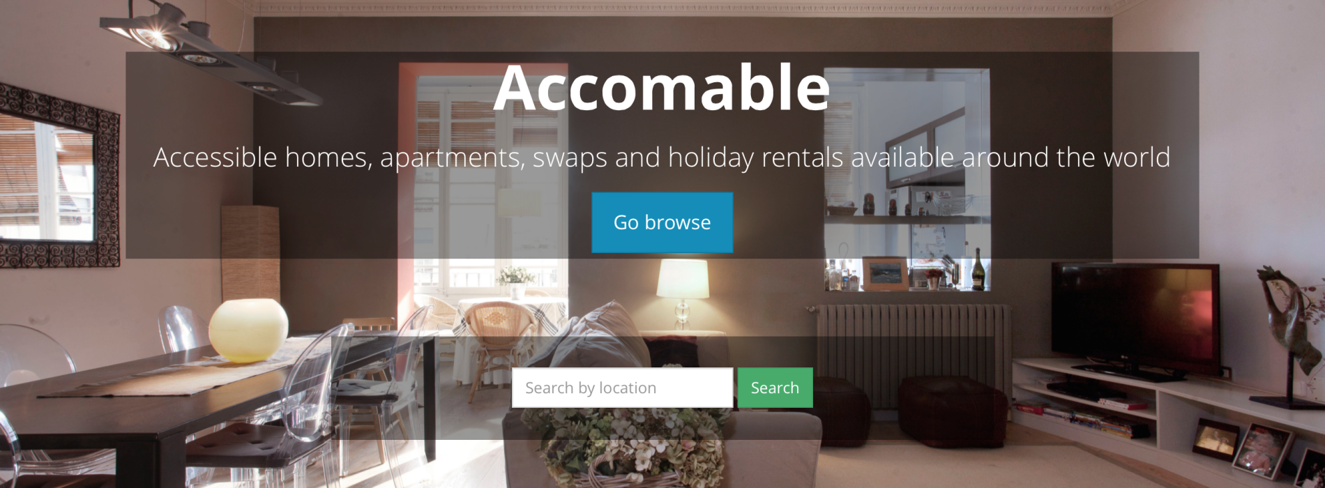 Introducing Accomable