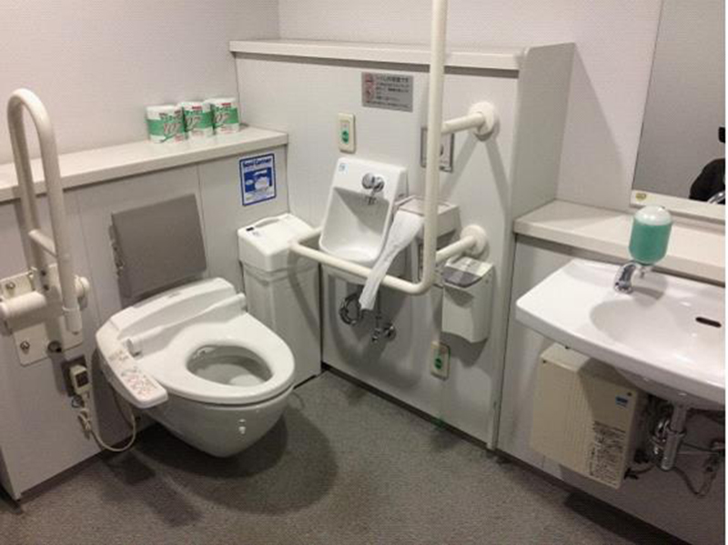 Accessible Japan - toilets interior