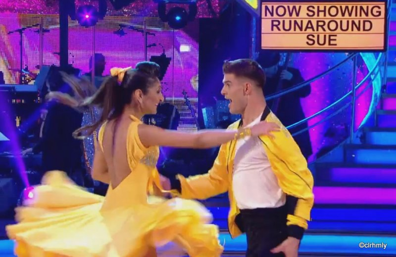 The People's Strictly Trishna dancing