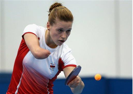 Paralympian Natalia Partyka
