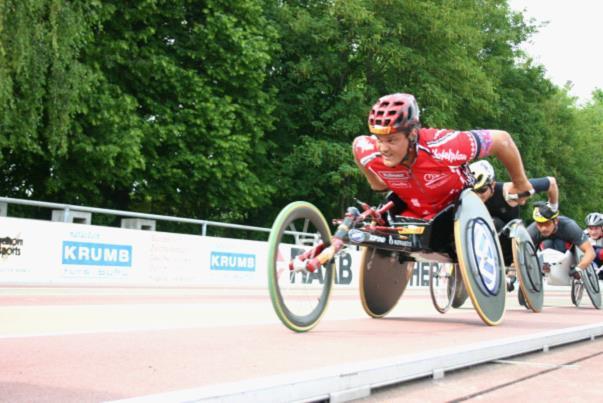 Paralympian Franz Nietlispach
