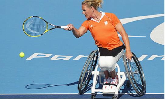 Paralympian Esther Vergeer