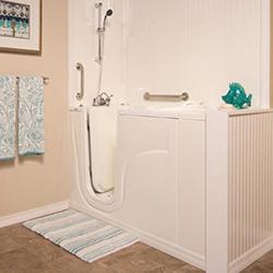 5.Walk-in bath shower