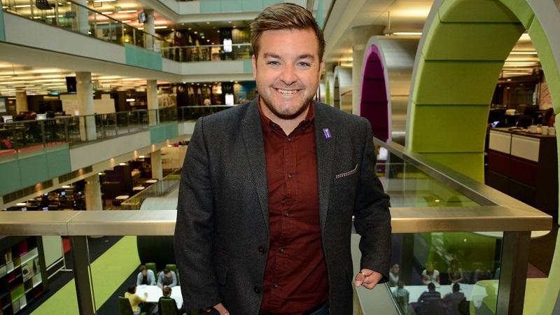 Disabled presenter Alex Brooker