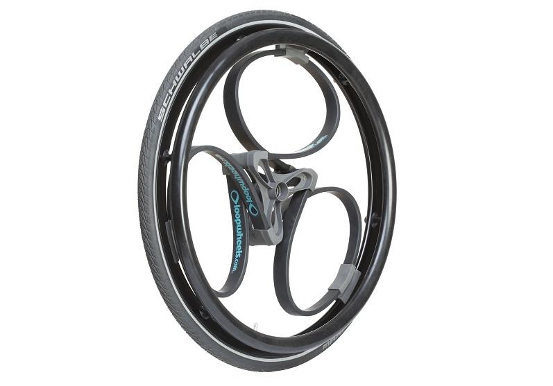 Loopwheel for wheelchairs