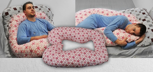 Snug positioning pillows from Win Health in six unique shapes