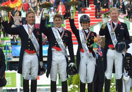 The British Equestrian team