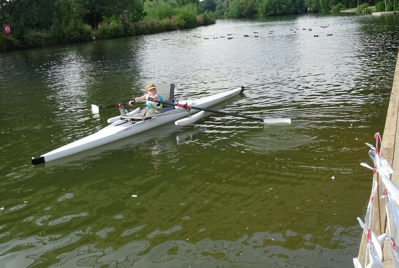 Disability and sport - Jo Barber adaptive rowing