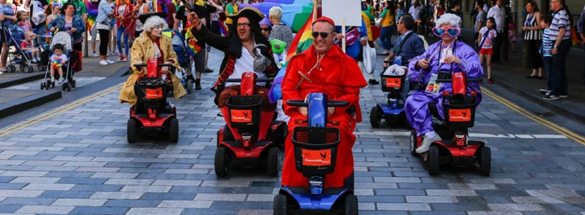 Gay and disabled: I'm proud of who I am