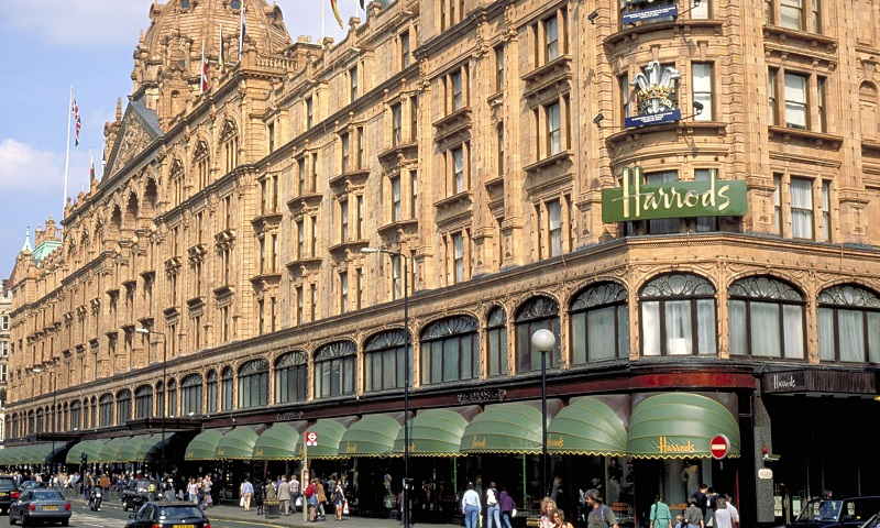 Accessibility at Harrods, Knightsbridge