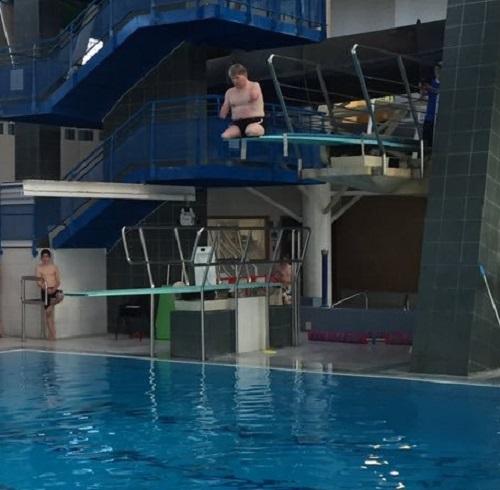 John Willis Paralympic diving