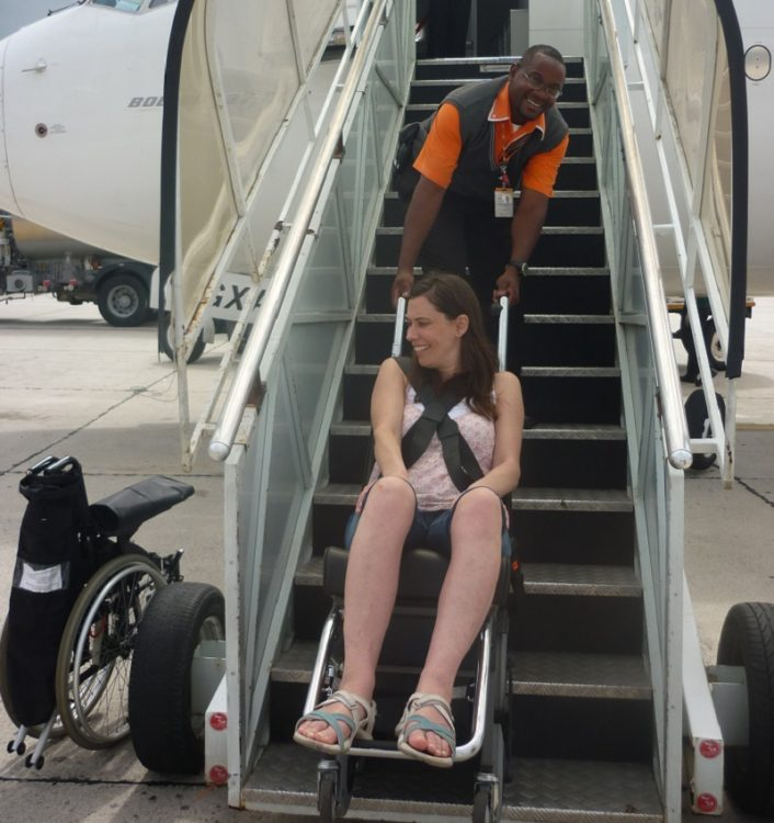 Travelling to Brazil in a wheelchair