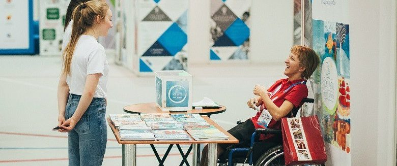 Photo of The value of volunteering if you're disabled