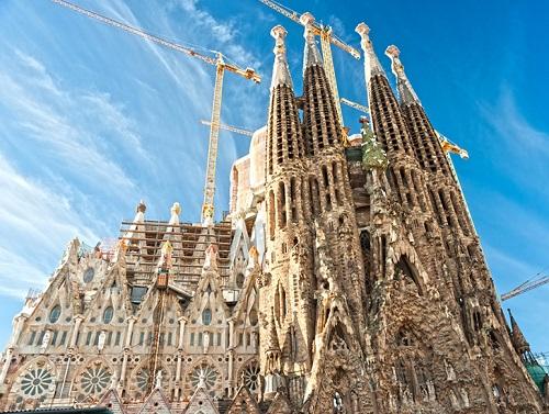Gaudi Sagrada Familia Church Barcelona