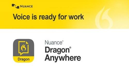 Dragon Aware dictation app