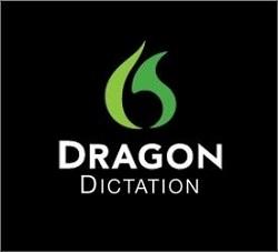 Dragon Dictation app