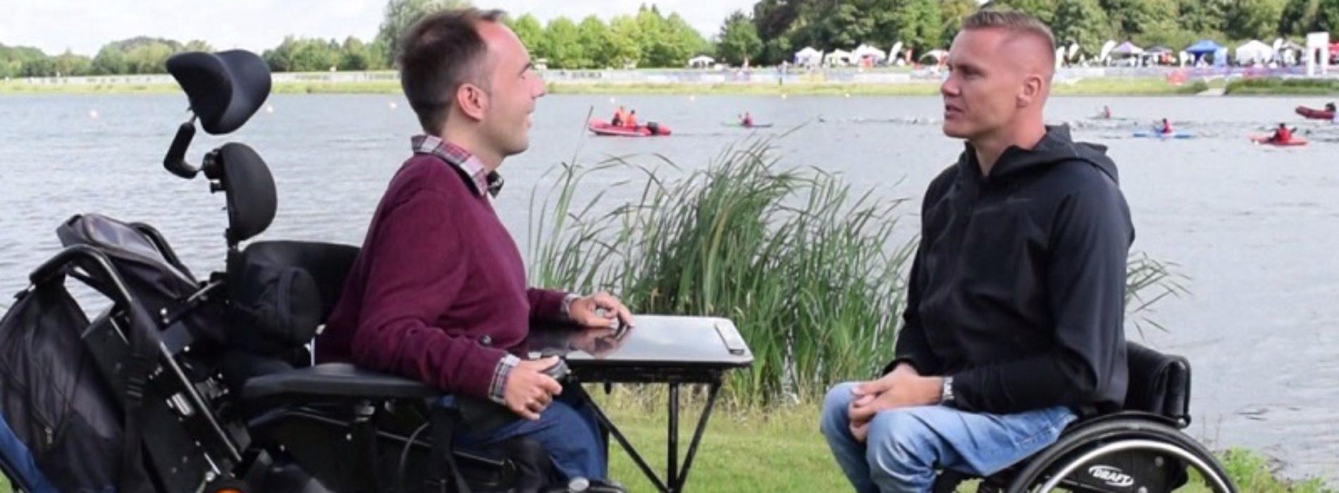 Superhero Tri Series: interview with Paralympian David Weir