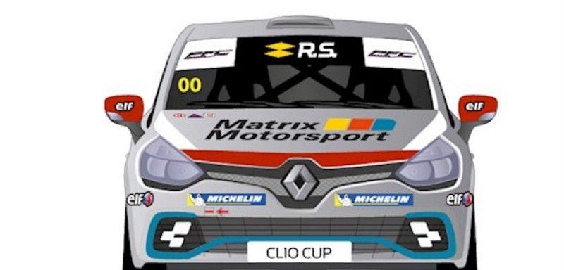 Renault UK Clio Cup car