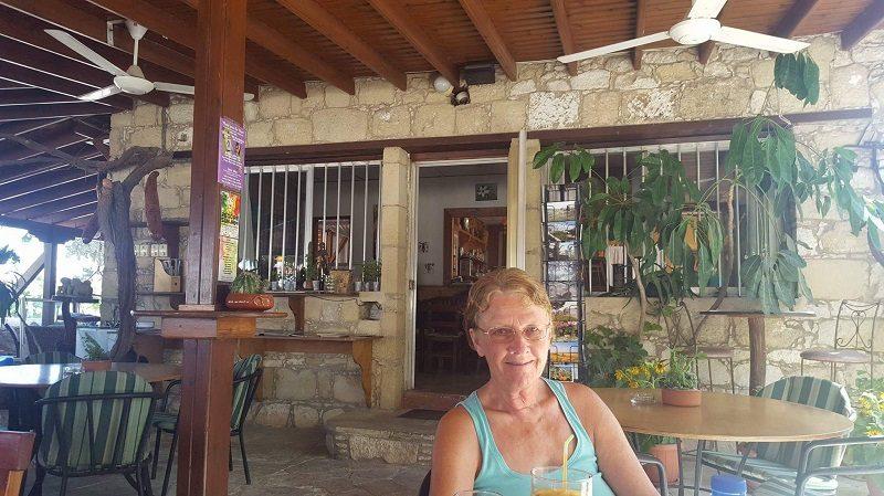 Margaret travelling