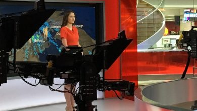 Photo of We speak to disabled BBC weather presenter Lucy Martin