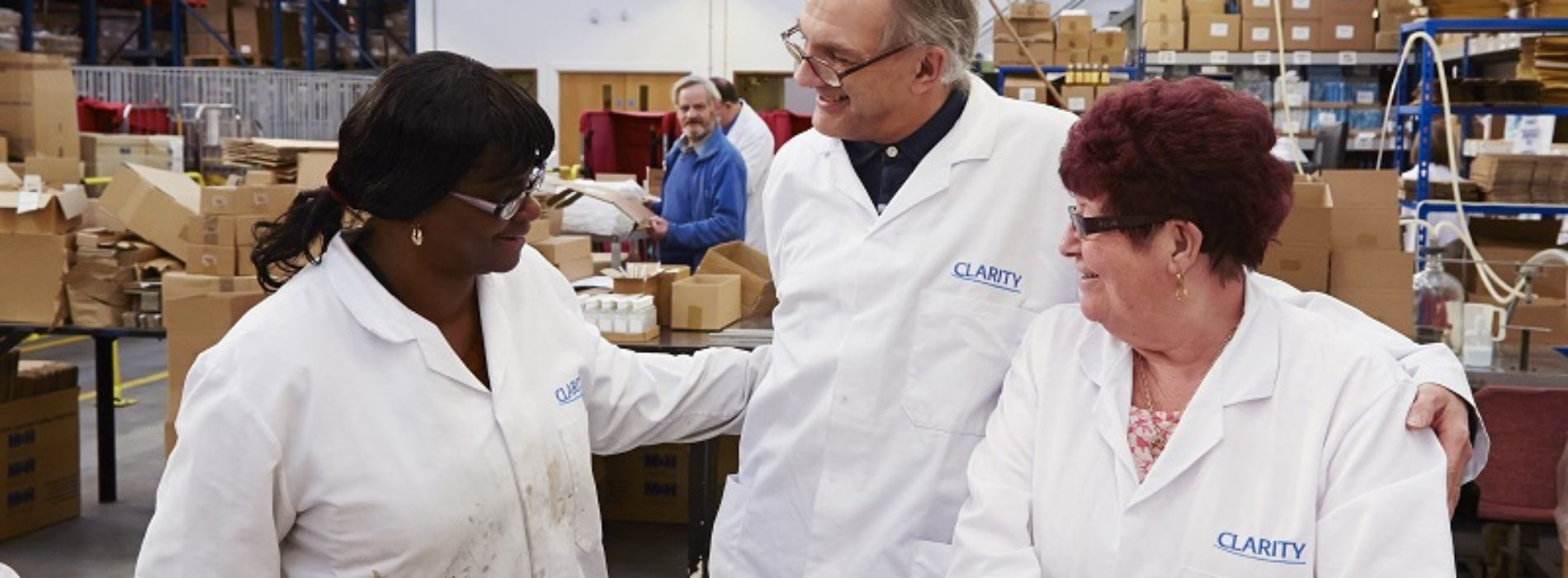 clarity  employing visually impaired and disabled people