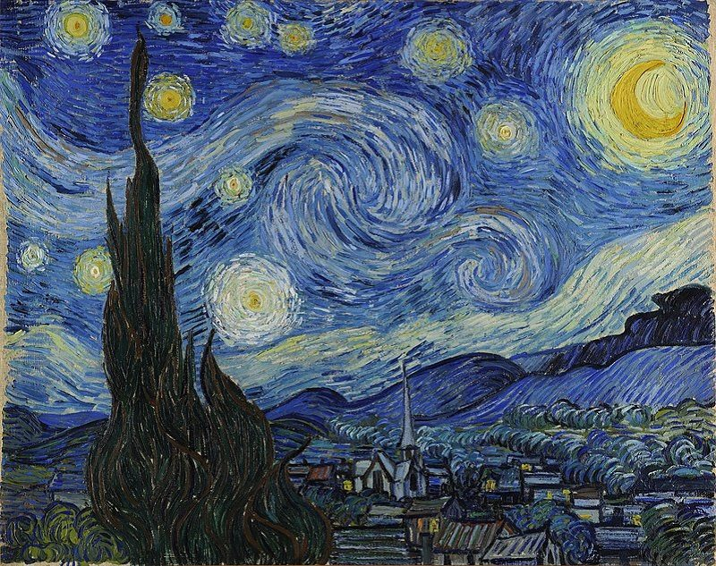 Van Gogh's painting Starry Night