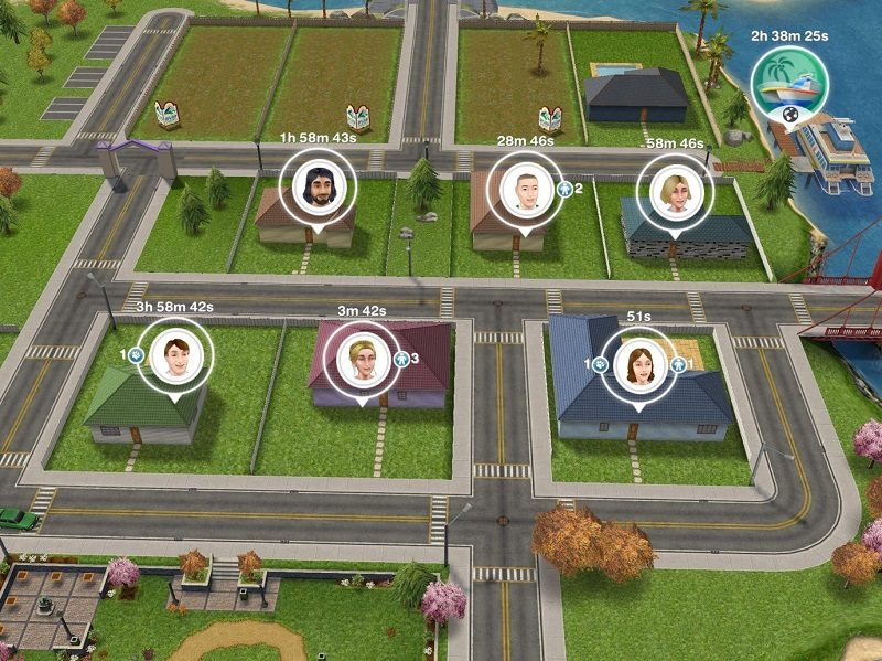 Accessible apps - Sims Freeplay