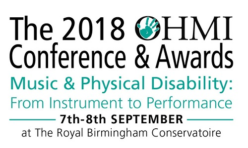 OHMI conference and concert logo