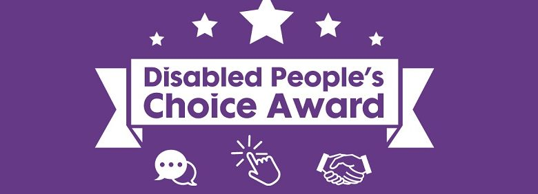 Disabled People's Choice Awards logo