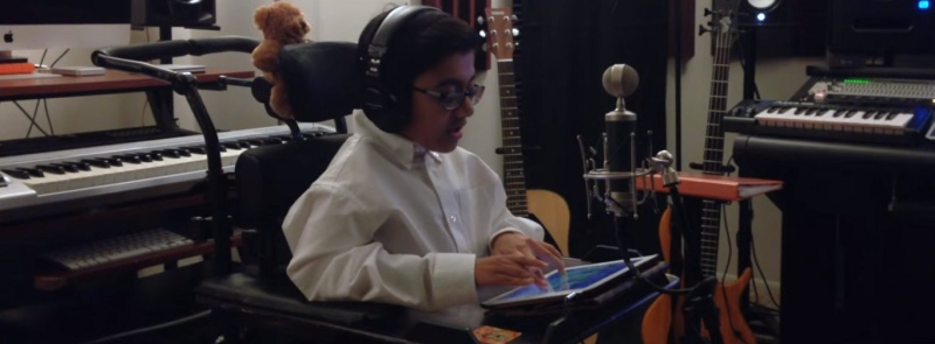 Sparsh Shah: the 15-year-old rapper with brittle bones