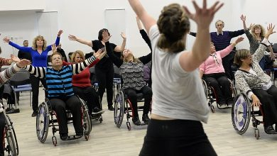 Photo of Wheelchair exercise: using Zumba to make fitness more inclusive