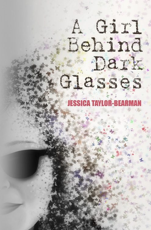 A Girl Behind Dark Glasses cover