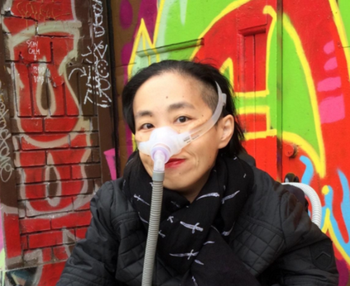 Disability rights activist Alice Wong