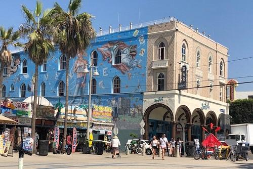 Iconic Venice Beach building