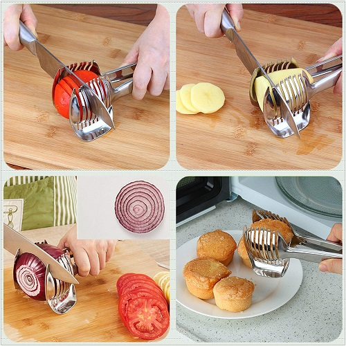 Kitchen slicer utensil