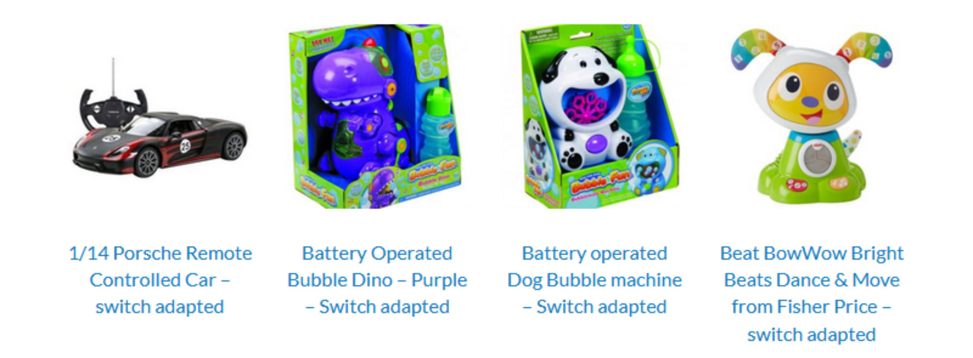 Adapted toys for disabled children on sale for Christmas