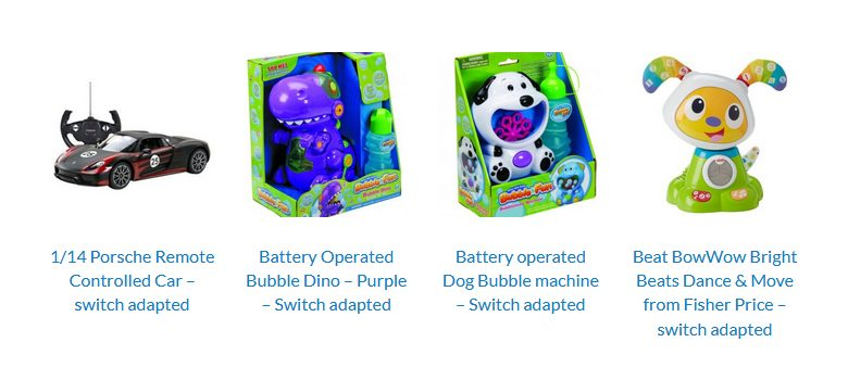 Photo of Adapted toys for disabled children on sale for Christmas