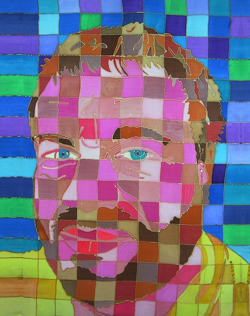 Disabled artist Tom Yendell's self portrait
