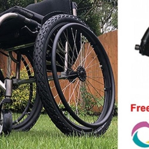 Why the FreeWheel is the best wheelchair accessory