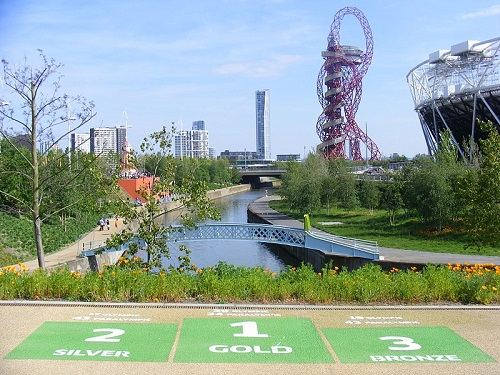 Accessible Queen Elizabeth Olympic Park in London