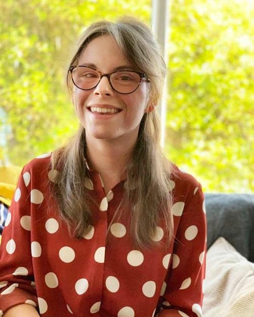 Disabled blogger Chloe Tear
