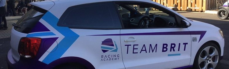 Team Brit racing car for disabled drivers