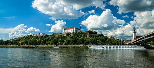 Bratislava castle accessibility