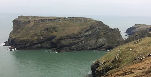 King Arthurs Seat in Tintagel