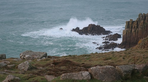 Sea at Land's End
