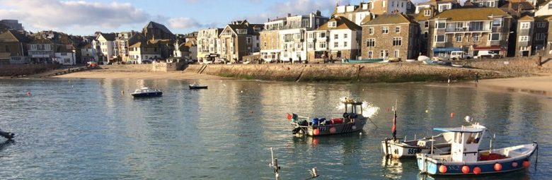 St Ives Harbour in Cornwall