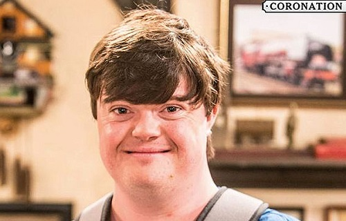 Liam Bairstow as Alex Warner in Coronation Street