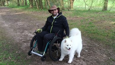 Photo of How the new all-terrain eTrike from Mountain Trike helps wheelchair users